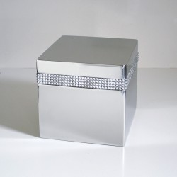 Urna Funeraria CRYSTAL CUBE URN MADE WITH SWAROVSKI ELEMENTS