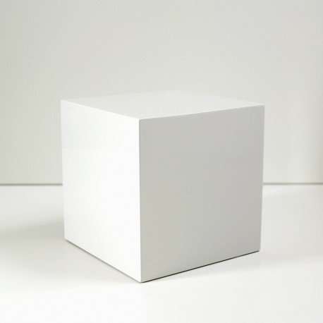 Cremation Urn WHITE CUBE