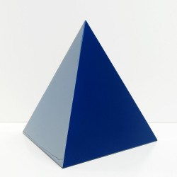 Cremation Urn BLUE PYRAMID