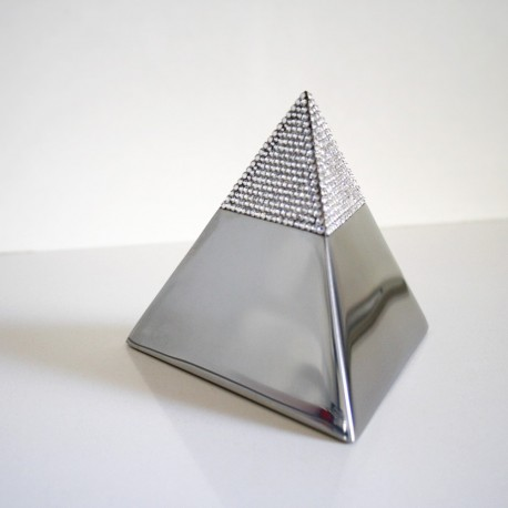 CRYSTAL PYRAMID KEEPSAKE MADE WITH SWAROVSKI ELEMENTS